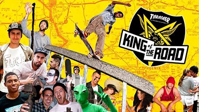 Every year a highlight: The 'King of the Road' Contest from Thrasher magazine